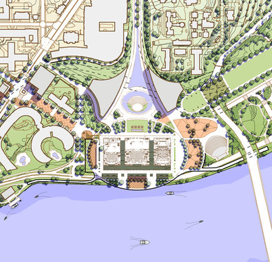 Peachy Kennedy Performing Arts Center Plaza Vision Plan Washington Dc Largest Home Design Picture Inspirations Pitcheantrous